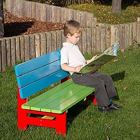 Panchine Da Giardino Colorate.Verniciato Per Asilo E Scuola Materna Panchina Da Giardino Per