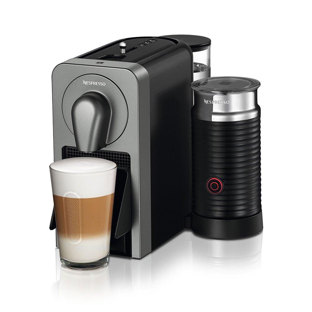 ネスプレッソ コーヒーメーカー プロディジオ エアロチーノセット チタン C70TI-A3B