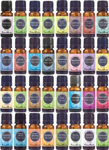Окончательный в портфеле Ароматерапия 100% Pure терапевтической степени чистоты Эфирные масла Set (Эфирное масло подарочной упаковке) - 32/10 мл