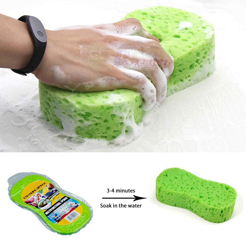 rims paint Kampre Set of 5 car sponge Car sponge washing sponge cleaning sponges for car care cleaning outside and inside 23 x 11 x 4.5 cm