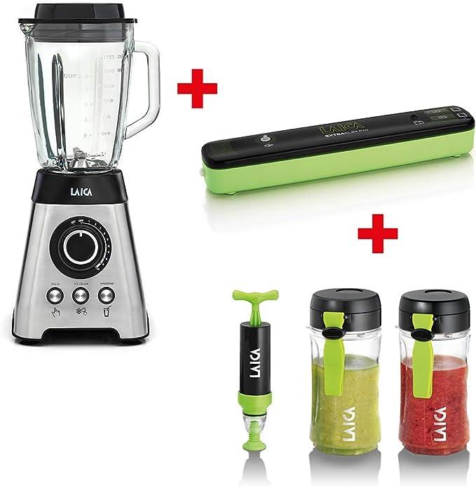 Laica PZ2008, Maxi kit de cocina: batidora multifunción, máquina ...