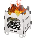 Lixada Camping Stove-Cookware Mess Kit-Wood Burning Stove-Lightweight,Compact,