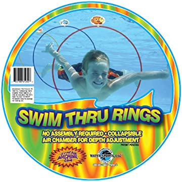 reliable Water Sports Swim Thru Rings