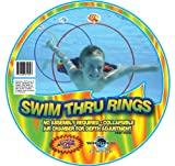 Water Sports Swim Thru Rings, 3 Pack (Toy)