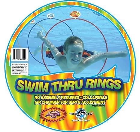 Swim Thru Rings, 3 Pack