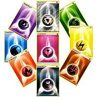 Nintendo 50 Pokemon Energy Cards Random Lot Of Cards