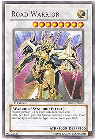 Yu-Gi-Oh! - Road Warrior (DP09-EN015) - Duelist Pack 9 Yusei ...