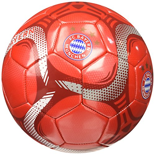 Icon FC Bayern Silver #5 Ball - Munich Bayern Gear