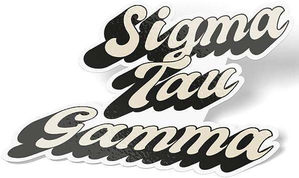 Sigma Vinilo Pegatina Calcomanía letra griega-Elige Tamaño Y Color