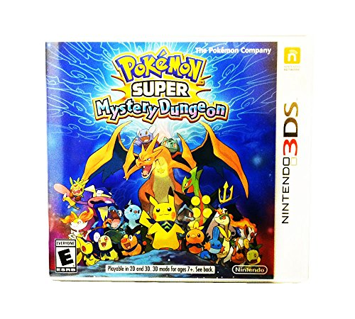 Pokemon Super Mystery Dungeon - Nintendo 3DS Standard Edition (Pokemon Mystery Dungeon Explorers Of Darkness Best Team)