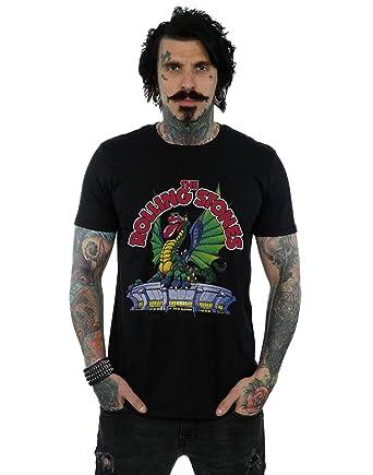Rolling Stones Hombre Dragon Stadium Camiseta: Amazon.es: Ropa y ...