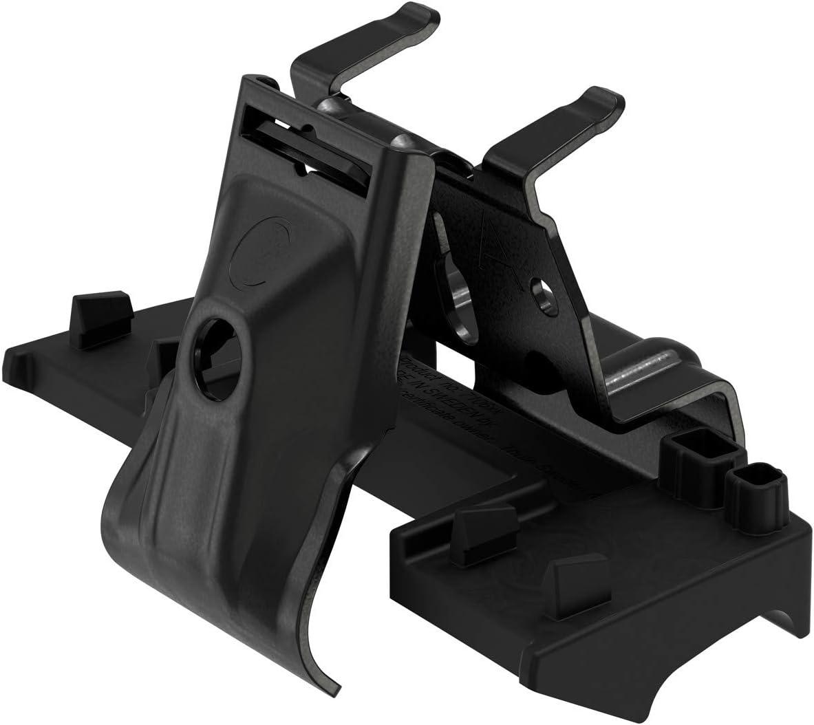 Negro Thule 186052 Kit de Ajuste Personalizado para Montar una Barra de Techo