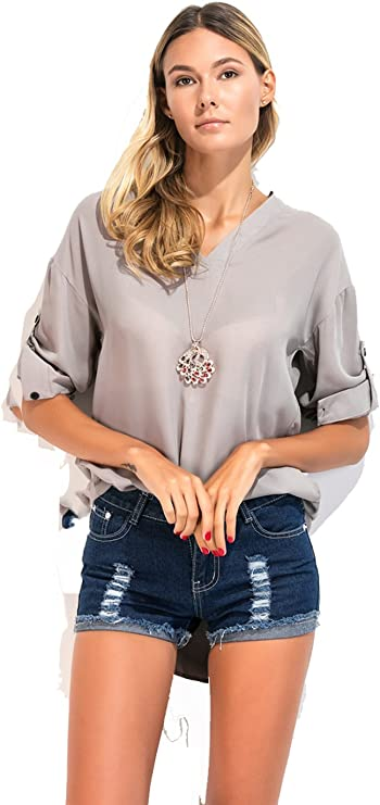 TYERY Camisa De Vestir con Corta Y Larga Cola,Gray,XXXL: Amazon.es: Deportes y aire libre