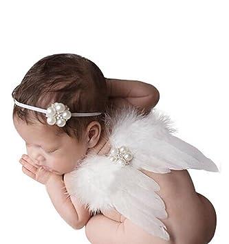 Baby Angel Wings traje de foto Prop, Tukistore bebé recién nacido ...