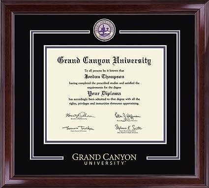 Amazon.com: Grand Canyon University Diploma Frame - Showcase Edition ...