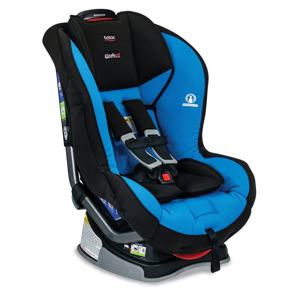 Amazon.com : Britax Essentials Allegiance Convertible Car Seat, Azul ...