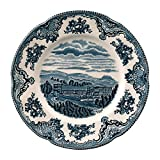 """Johnson Brothers Old Britain Castles Blue Salad Plate 8"""", 8"""", Blue"""