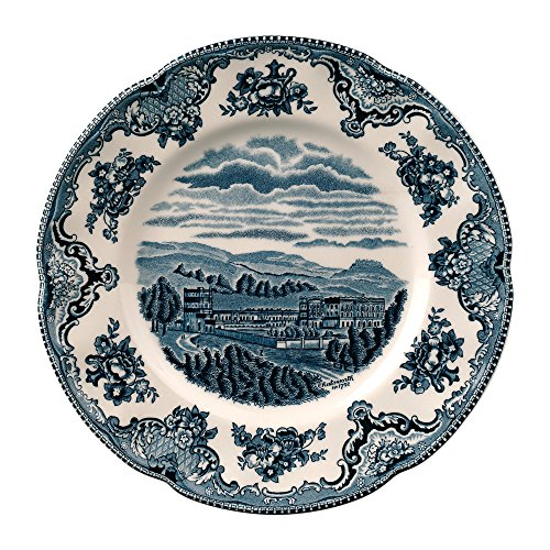 "Johnson Brothers Old Britain Castles Blue Salad Plate 8"", 8"", Blue"