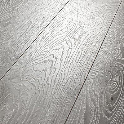 Kronotex Villa Timeless Oak Grey 12mm Laminate Flooring SAMPLE