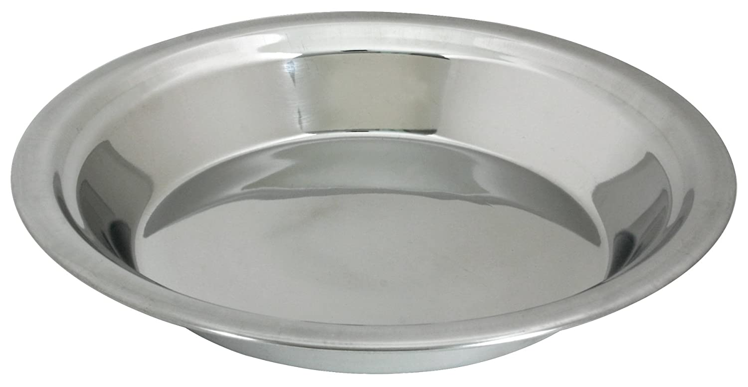 Lindy's 9-Inch Stainless Steel Pie Pan