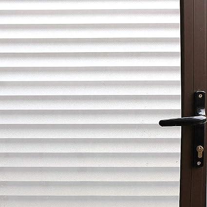 Superbe Bloss Privacy Window Film Bathroom Window Film Glass Films Faux Shutter  Style Window Film Window Covering