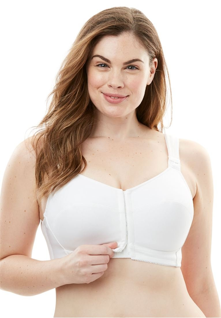 Comfort Choice Women's Plus Size Lace Posture Bra