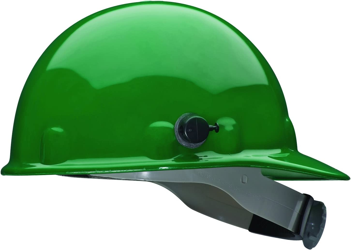 Blue Fibre-Metal by Honeywell E2QRW71A000 Super Eight Ratchet Cap Style Hard Hat with Quick-Lok