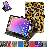 Acer Iconia One 8 B1-820 /Tab 8 A1-860 Rotating Case,Mama Mouth 360 Degree Rotary Stand With Cute Lovely Pattern Cover For 8