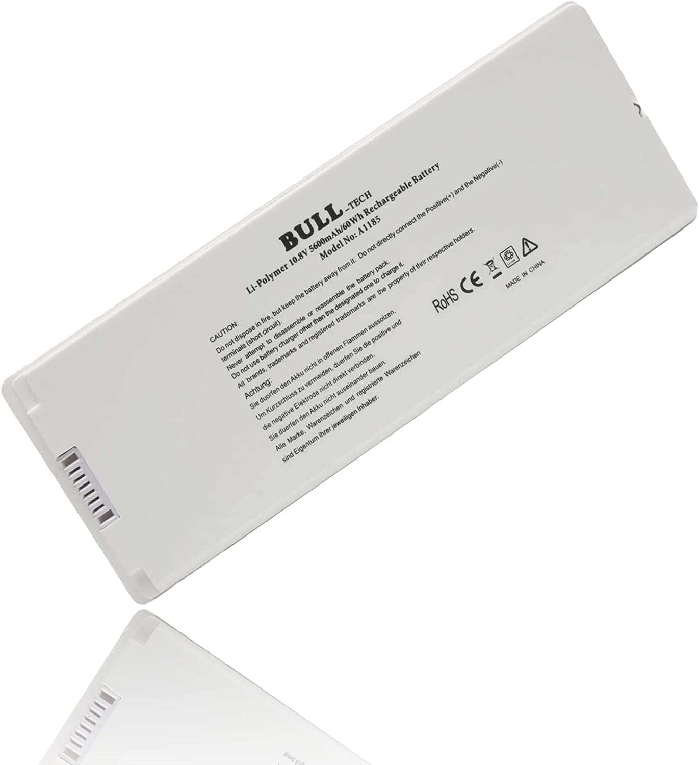 "A1185 A1181 MA561 MA561FE/A MA561G/A MA561J/A New Laptop Battery for Apple 13"" MacBook (Mid. / Late 2006, Mid. / Late 2007, Early/Late 2008, Early/Mid. 2009)"