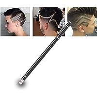 Hair Tattoo Trim Hair Razor Pen For Hair Design Stainless Steel Face Shaping Device, Engraved Pen/ 10 Blades/Tweezer…