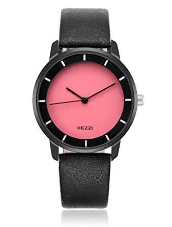 3b4178941 DOVODA Unisex Watches for Men Women Casual Classy Quartz Red Dial Black  Leather (red)