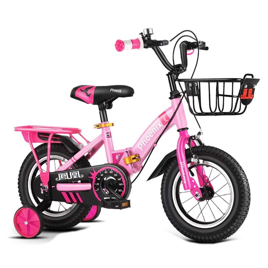 ー品販売  子供用自転車 ファッション子供用ペダル (Color 三輪自転車 23歳の子供用自転車 屋外ペダル用自転車 男の子と女の子用自転車 B07PZ31FMN (Color : Pink Pink, Size : 12 inches) 12 inches Pink B07PZ31FMN, 横浜大飯店:e4081abc --- senas.4x4.lt