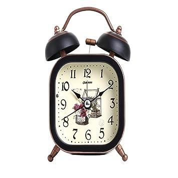 Wecker Kinderzimmer | Txso Wecker Kreativ Leise Faul Mechanisch Klingel Uhr