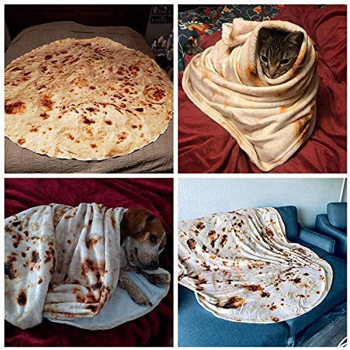 Amazon Coupon Code for Burrito Tortilla Blanket