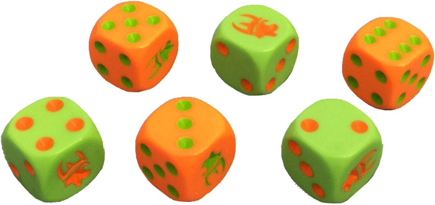 Steve Jackson Games Munchkin Plus 6 Bolsa o radiactivos Munchkin D6 Juego de Cartas: Amazon.es: Juguetes y juegos