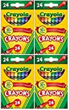 Crayola Classic Color Pack Crayons, 24 Count, (Pack of 4): more info