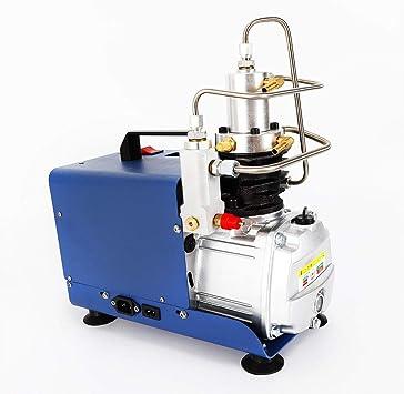 Yiyiby Hochdruckluftpumpe Elektrische 300bar Automatischer Stopp 30mpa 4500psi Luft Kompressor Pcp Für Automobil Tauchflasche Industrieflasche Luftgewehr Gewehr Inflator Baumarkt