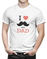 iberrys Men's 100% Cotton Round Neck Half Sleeve Tshirts-Best Birthday Gift For Dad/PaPa (6)