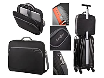 Carcasa rígida para Monaco ICT Samsonite 50,8 cm bolsa de viaje para portátil de maletín (de color negro): Amazon.es: Informática