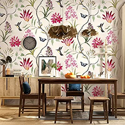 Vintage wallpaper for girls room - Video and Photos | Madlonsbigbear.com