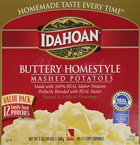 Idahoan Buttery homestyle flavored mashed potatoes, 3 Pound