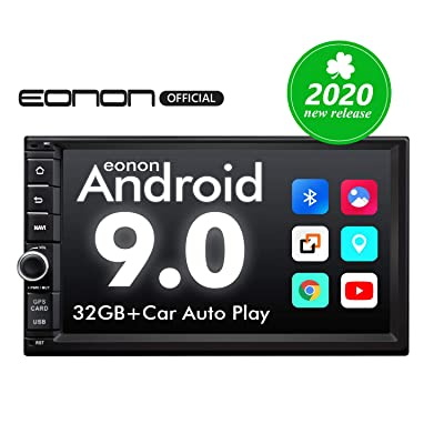 2020 Double Din Car Stereo,Android Radio with Bluetooth 5.0, Eonon 7 Inch Android 9.0 Car Radio Android Head Unit Car Stereo Support Android Auto//Fast Boot//Apple Carplay(NO DVD/CD)-GA2176: Electronics