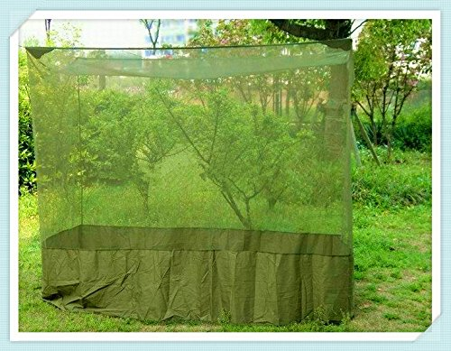 SS-Wild outdoor mosquito net print NET edge fillet nets mosquito device , coffee , (Filet Coffee)