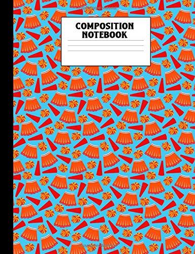 Composition Notebook: Cheerleader Wide Ruled Comp Book por Corner Press, Athlete's