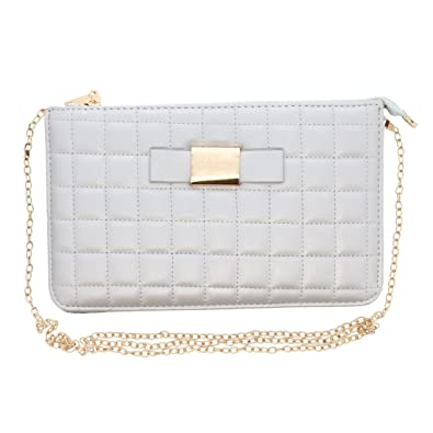 Amazon.com: Acolchado bolsa de embrague bolso de noche de ...