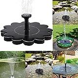 Buolo Outdoor Solar Bird Bath Water Fountain Pump Solar Panel Water Floating For Pool, Small Pond,Garden, Aquarium