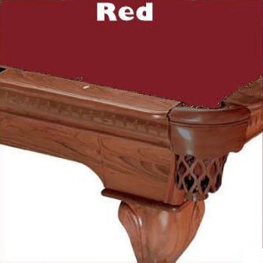 Prolineクラシック303テフロンビリヤードPool Table Clothフェルト 10 B00D37LR40 10 Table ft.|レッド レッド ft.|レッド 10 ft., Well being専門店 ちんじゅ:ddfb1d6c --- m2cweb.com