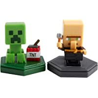 MINECRAFT Earth BOOST MINI FIGURES 2-PACK NFC-Chip Toys, Earth Augmented Reality Mobile Game, Based on Minecraft Video…