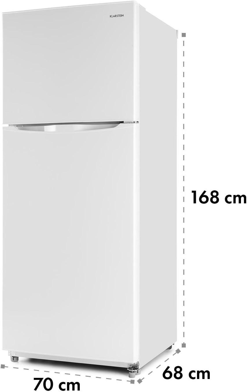KLARSTEIN Big Brother Nevera con congelador (371 litros ...