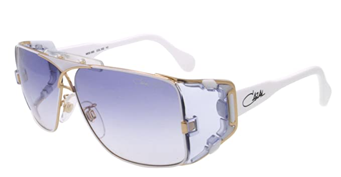Amazon Com Cazal Sunglasses Cz 955 White 332 Cz955 Cazal Clothing